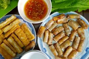 Chả ram tôm đất Bình Định